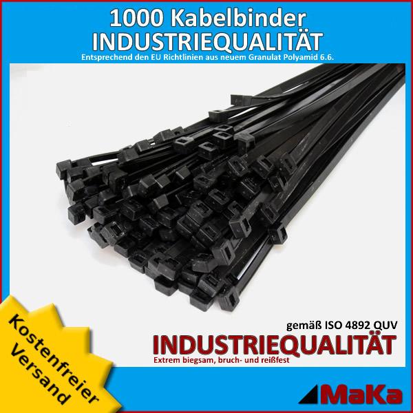 kabelbinder natur 7 5 x 430 mm